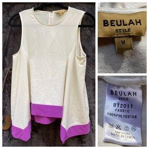 Beulah Style Sleeveless Top